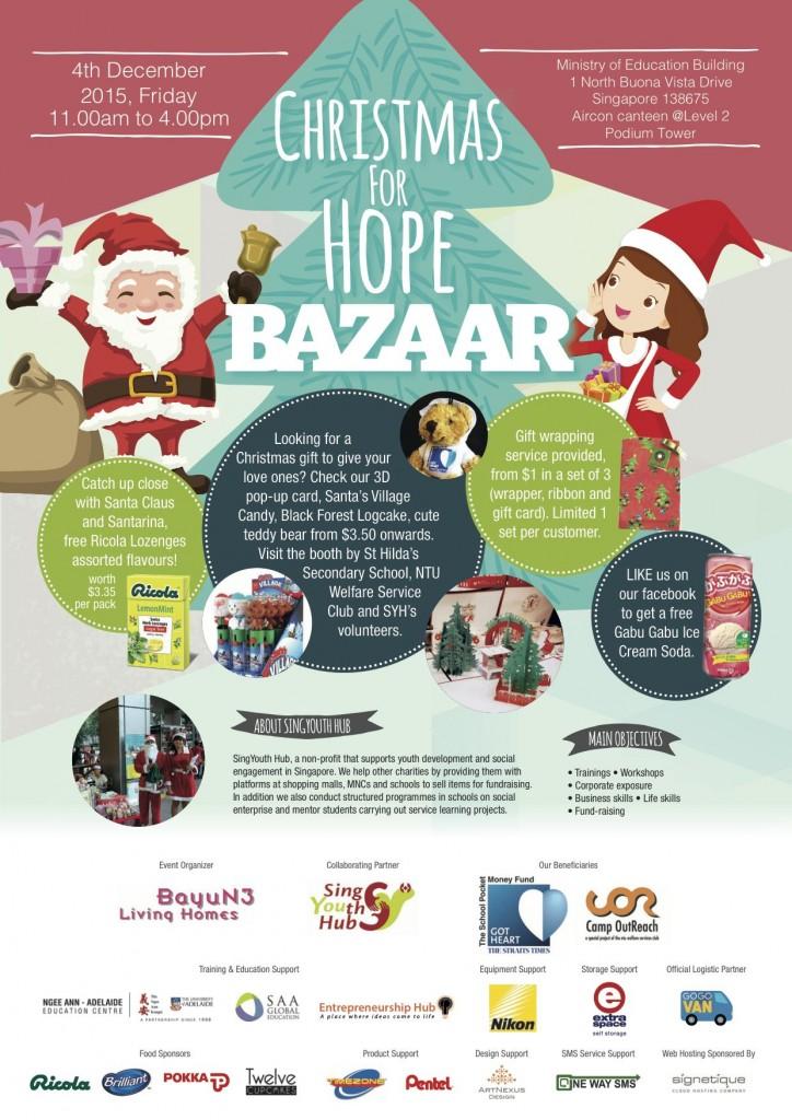 Christmas Bazaar Poster_27 Nov