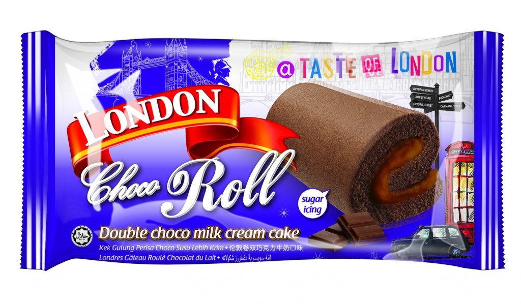 LD Choco Roll wrapper